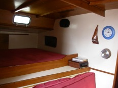 Bunk in main cabin