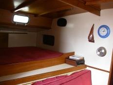 Bunk in main cabin
