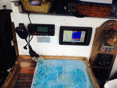 new charplotter/fishfinder -- fits perfect!