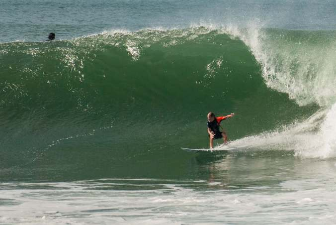 Mazatlan's waves were a very pleasant surprise