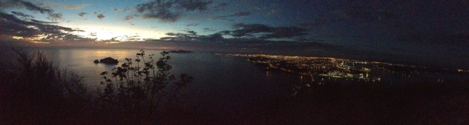 Mazatlan at night