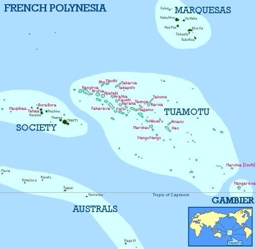 french-polynesia clean map
