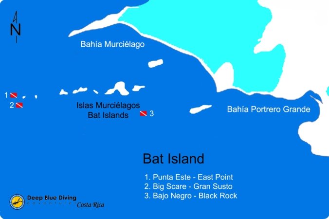 Murcielagos dive sites