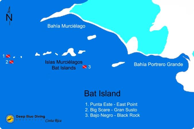 Murcielagos dive sites