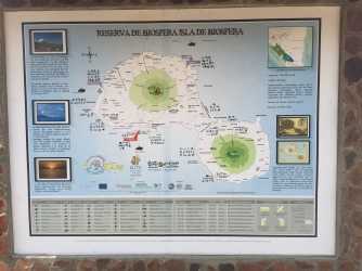 Isla Ometepe's unique geography