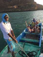 San Juan del Sur water taxi