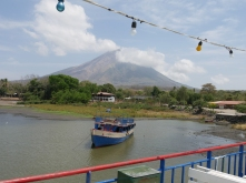Isla Ometepe, arriving by ferry