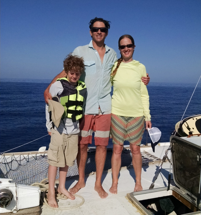 After sailing with Captain K in Morro Bay and Channel Islands 10 years ago, I finally bring the family in tow -- to sail from Nicaragua to Costa Rica