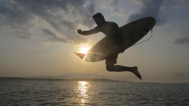 mc ninja sunset.JPG